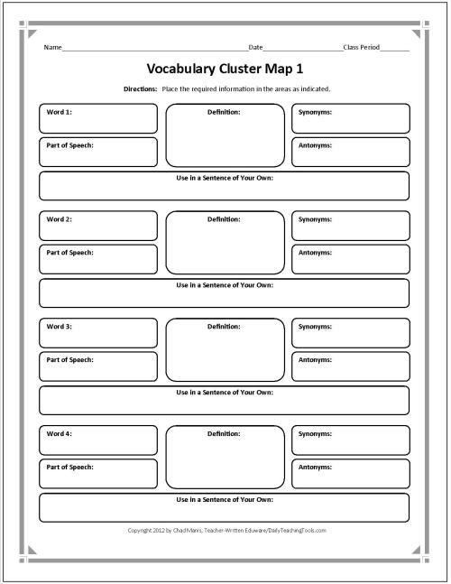 vocabulary for writing essays